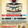 08/08: Freedom Of Beats@La Cita/L.A.
