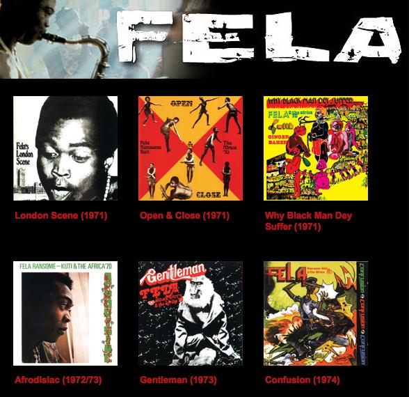 Fela Kuti :: Discografia Completa - Só Pedrada Musical